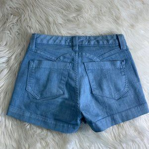 GOLDSIGN Made In USA Light Wash Jean Shorts Denim